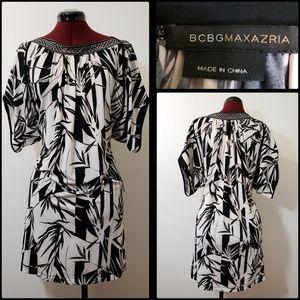 BCBGMAXAZRIA WOMAN CASUAL FORMAL LAZY ARM DRESS